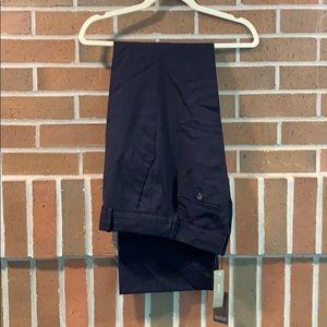 J Crew Cafe Trouser in Navy